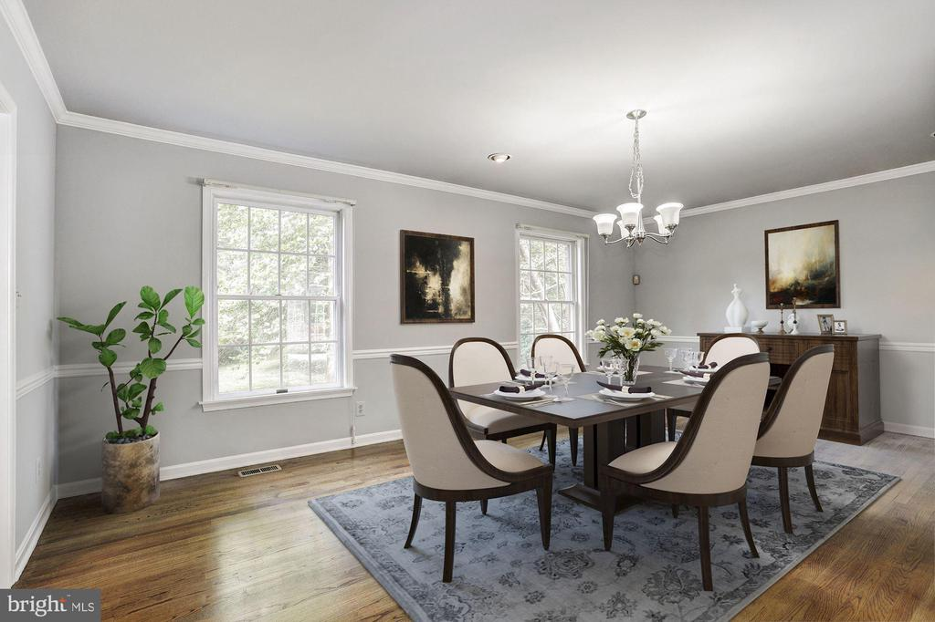 Formal Dining Room - 10545 CLARKSVILLE PIKE, COLUMBIA