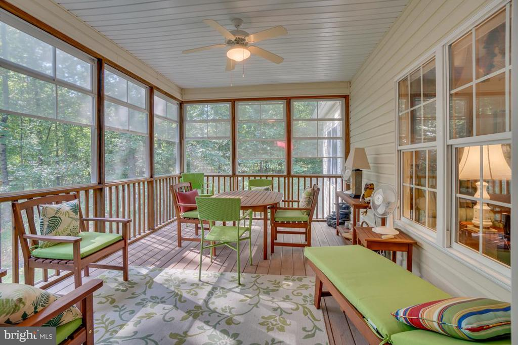 Enjoy drinking your morning coffee on the porch - 114 BUTLER CIR, LOCUST GROVE