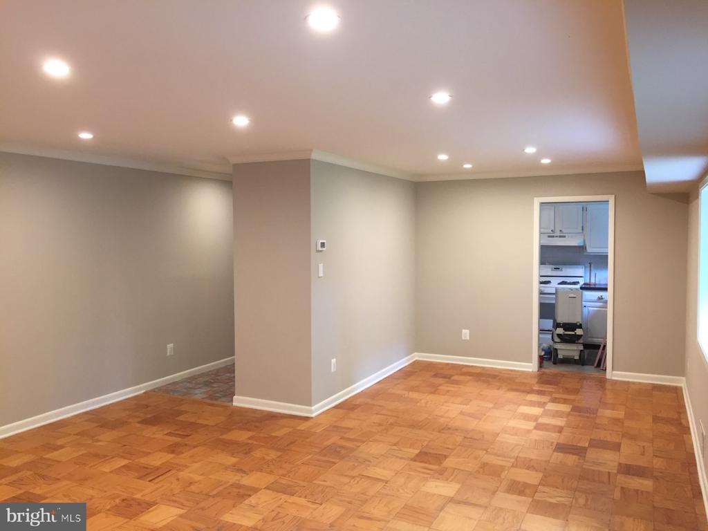 Living Room w/View to Dining Room - 10637 MONTROSE AVE #3, BETHESDA