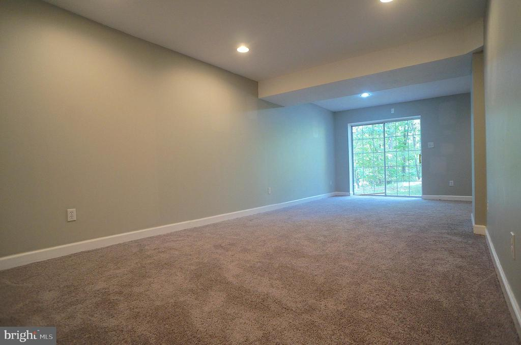 Rec Room has Sliding Glass Door to Rear Yard - 2004 WAVE DR, STAFFORD