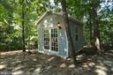 He/She Shed (12'x10') with Twin 15-Lite French Doo - 2004 WAVE DR, STAFFORD