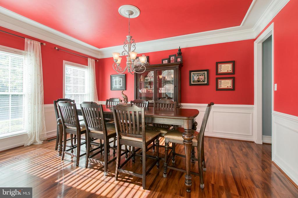 Formal Dining Room - 12 SILVERLEAF CT, STAFFORD