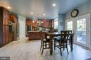 Eat-in Kitchen - 12 SILVERLEAF CT, STAFFORD