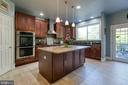 Gourmet Kitchen with pendant  & recessed lights - 12 SILVERLEAF CT, STAFFORD