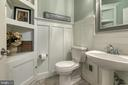 Large half bathroom recently updated - 12 SILVERLEAF CT, STAFFORD
