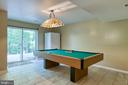Rec room and pool table conveys - 12 SILVERLEAF CT, STAFFORD