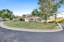 Front  and Side Lawn View - 5593 JARIST DR, CLIFTON