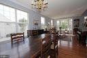 Dining room which is fantastic for entertaining! - 806 SANTMYER DR SE, LEESBURG