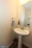 Main level powder room - 806 SANTMYER DR SE, LEESBURG