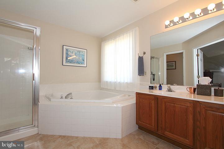 Master bathroom- Alt view - 806 SANTMYER DR SE, LEESBURG