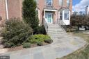 Stunning flagstone walk way and front steps - 806 SANTMYER DR SE, LEESBURG