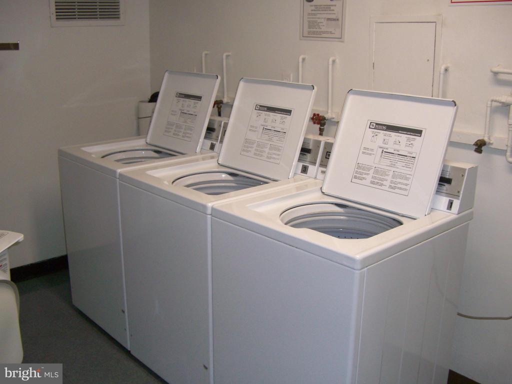 laundry-room on every floor - 2939 VAN NESS ST NW #726, WASHINGTON