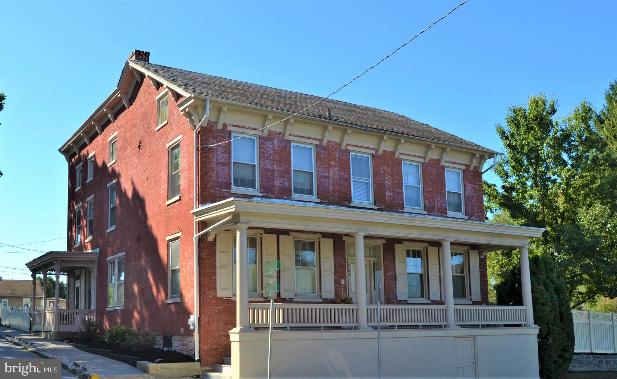 A rare find! All brick home built in the 1800s.