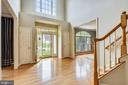 Gleaming Hardwoods in 2-story Entry! - 6846 CREEK CREST WAY, SPRINGFIELD