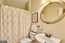 Full Bath on the Main Level next to Library! - 6846 CREEK CREST WAY, SPRINGFIELD