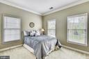 2nd Bedroom  with carpet and lots of light! - 6846 CREEK CREST WAY, SPRINGFIELD