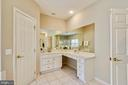 No one feels short changed in this Master Bath! - 6846 CREEK CREST WAY, SPRINGFIELD