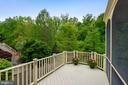 Grill or Sun Yourself on the Deck off the Porch! - 6846 CREEK CREST WAY, SPRINGFIELD