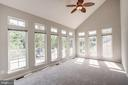 Huge bonus family room/sun room - 5675 CLOUDS MILL DR, ALEXANDRIA