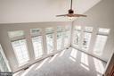 Two story family room/sun room - 5675 CLOUDS MILL DR, ALEXANDRIA