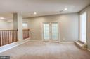 Fully finished basement - 5675 CLOUDS MILL DR, ALEXANDRIA