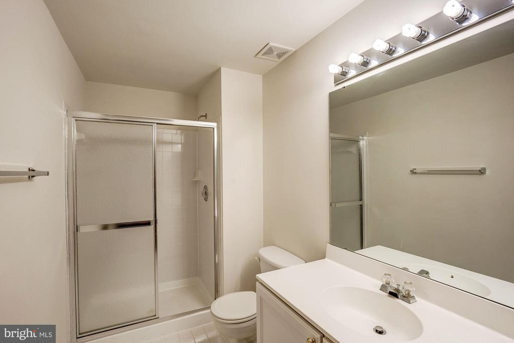 Full bathroom in basement - 5675 CLOUDS MILL DR, ALEXANDRIA