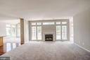 Beautiful family room - 5675 CLOUDS MILL DR, ALEXANDRIA