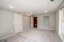 Additional bonus room in basement - 5675 CLOUDS MILL DR, ALEXANDRIA