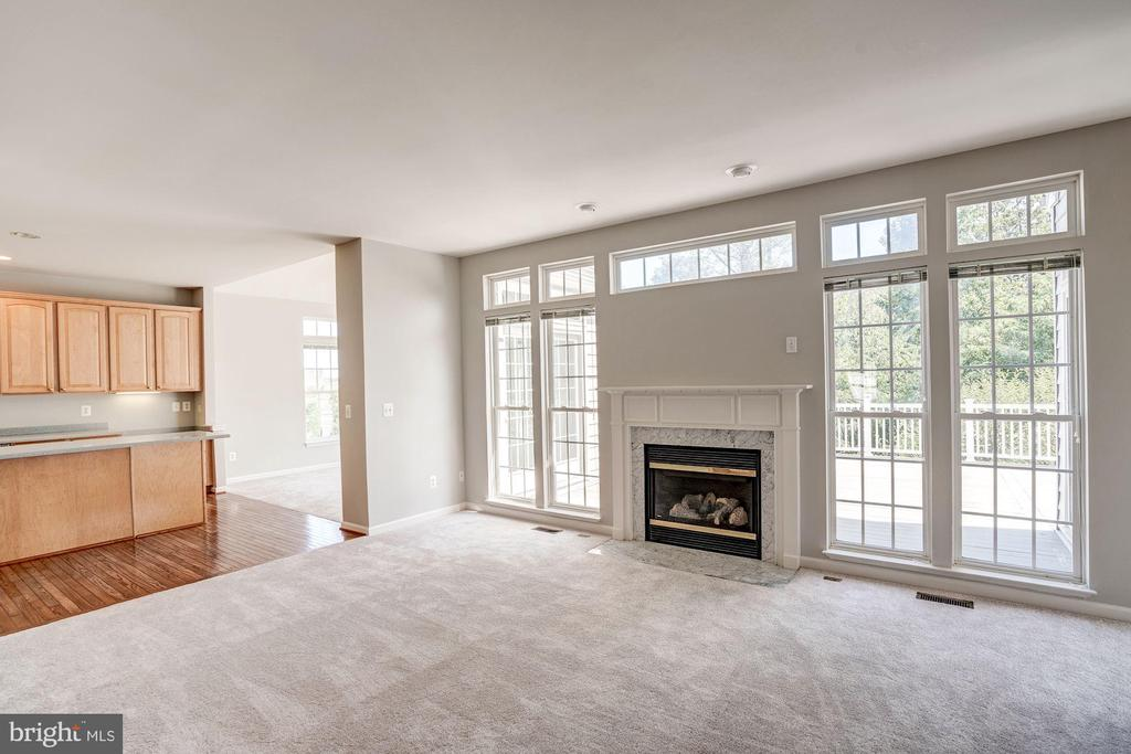 Get cozy near the fireplace - 5675 CLOUDS MILL DR, ALEXANDRIA