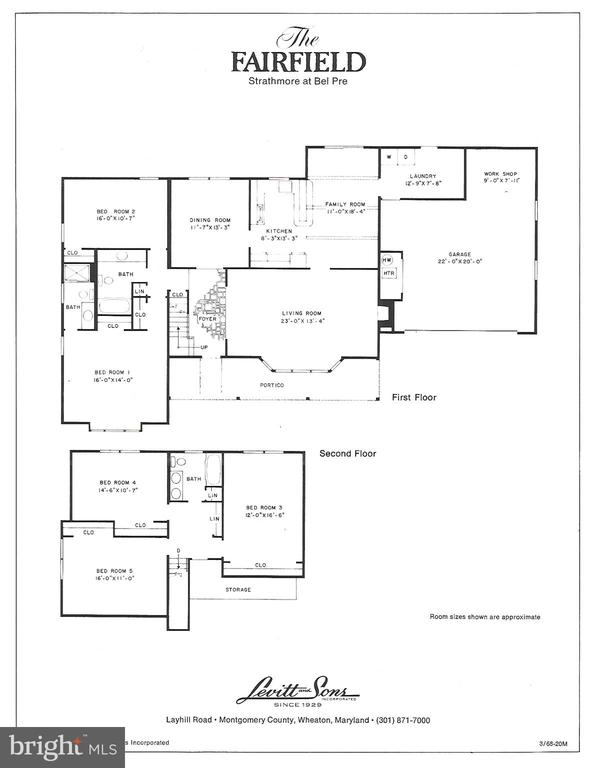 Floor Plan - 2808 VILLAGE LN, SILVER SPRING