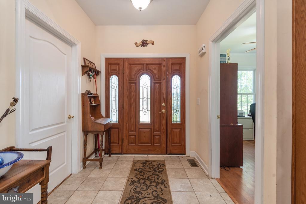 foyer - 14007 JAMES MADISON HWY, ORANGE