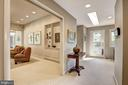 Wide hallways & open floorplan - 5119 BRADLEY BLVD, CHEVY CHASE