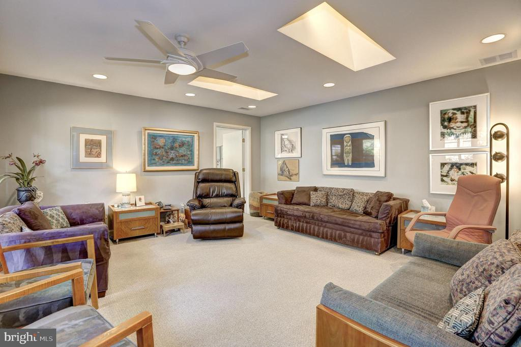 Main Level Master (currently used as home office) - 5119 BRADLEY BLVD, CHEVY CHASE