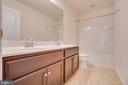 Ceramic Tile Upgrade in Hall Bath ($690) - 219 ROCK RAYMOND DR, STAFFORD
