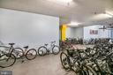 Plenty of Secured Bike Storage! - 3600 S GLEBE RD #222W, ARLINGTON