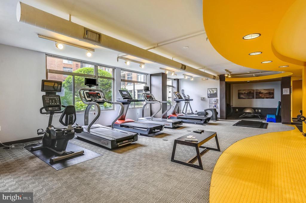 Wonderful Exercise Room! - 3600 S GLEBE RD #222W, ARLINGTON