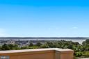 Potomac Views from Rooftop Terrace! - 3600 S GLEBE RD #222W, ARLINGTON
