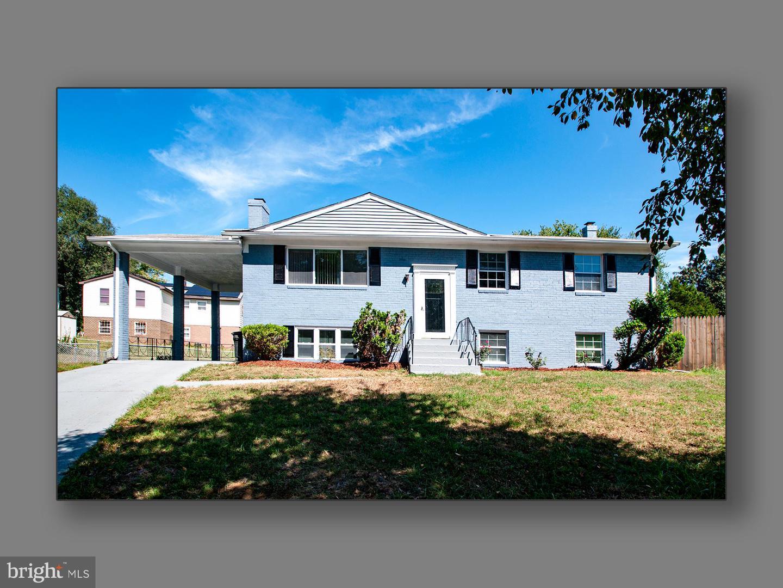 Single Family Homes для того Продажа на Capitol Heights, Мэриленд 20743 Соединенные Штаты