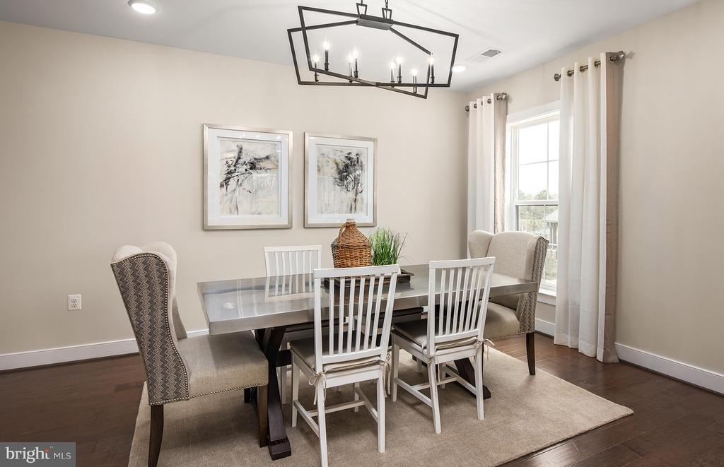 Dining Area - 210 DECOVERLY DR #10003, GAITHERSBURG