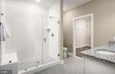 Owner's Bathroom wiht Walk-in Shower - 210 DECOVERLY DR #10003, GAITHERSBURG