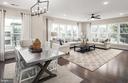 Dining Area with Open Gathering Room - 210 DECOVERLY DR #10003, GAITHERSBURG
