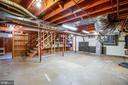 HUGE utility, mechanical & storage room in lower l - 1106 LITTLEPAGE ST, FREDERICKSBURG