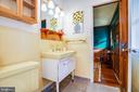 Main level full bath - 1106 LITTLEPAGE ST, FREDERICKSBURG