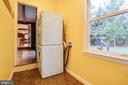 Main level laundry room - 1106 LITTLEPAGE ST, FREDERICKSBURG