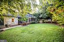 INCREDIBLE back yard - 1106 LITTLEPAGE ST, FREDERICKSBURG