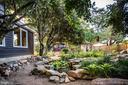 Mature gardens & landscaping - 1106 LITTLEPAGE ST, FREDERICKSBURG