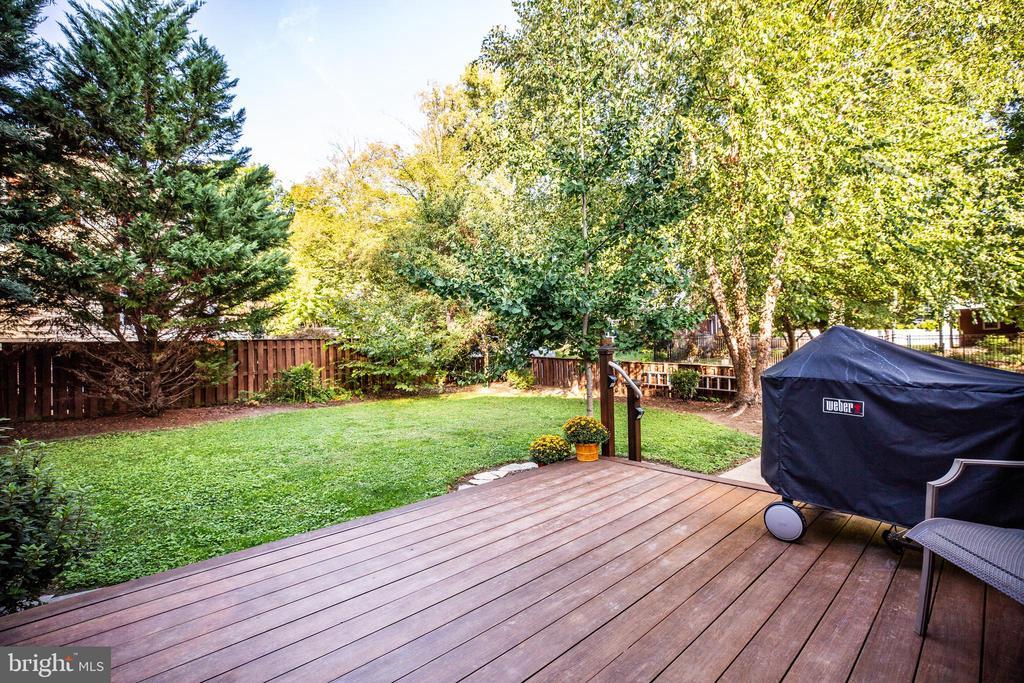 Deck and grassy area - 1106 LITTLEPAGE ST, FREDERICKSBURG