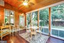 Screen porch w/easy breeze windows - 1106 LITTLEPAGE ST, FREDERICKSBURG