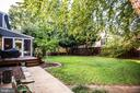 Perfect fenced back yard for dogs to romp and play - 1106 LITTLEPAGE ST, FREDERICKSBURG