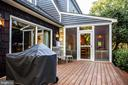 Deck and screen porch - 1106 LITTLEPAGE ST, FREDERICKSBURG